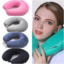 Luxury Neck Travel Pillows For airplane Sleep Microbead Nap Neck Pillow - $249,12 MXN+