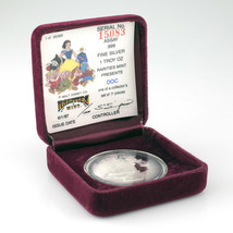 Rarities Mint Walt Disney 1 Oz. Silver Round w/ Box and CoA Doc - $69.18