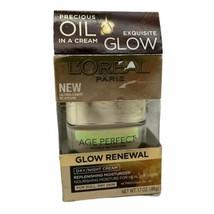L'OREAL Paris Glow Renewal Day / Night Cream Moisturizer, 1.7oz - $15.34