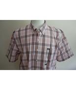 Falls Creek Men's Short Sleeve Button Front Shirt size L New - $12.86