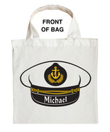 Fishing Captain Trick or Treat Bag, Navy Captain Trick or Treat Bag - $11.39+