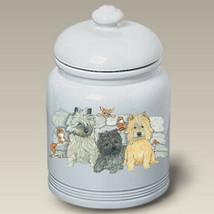 Cairn Terriers Treat Jar - $44.95