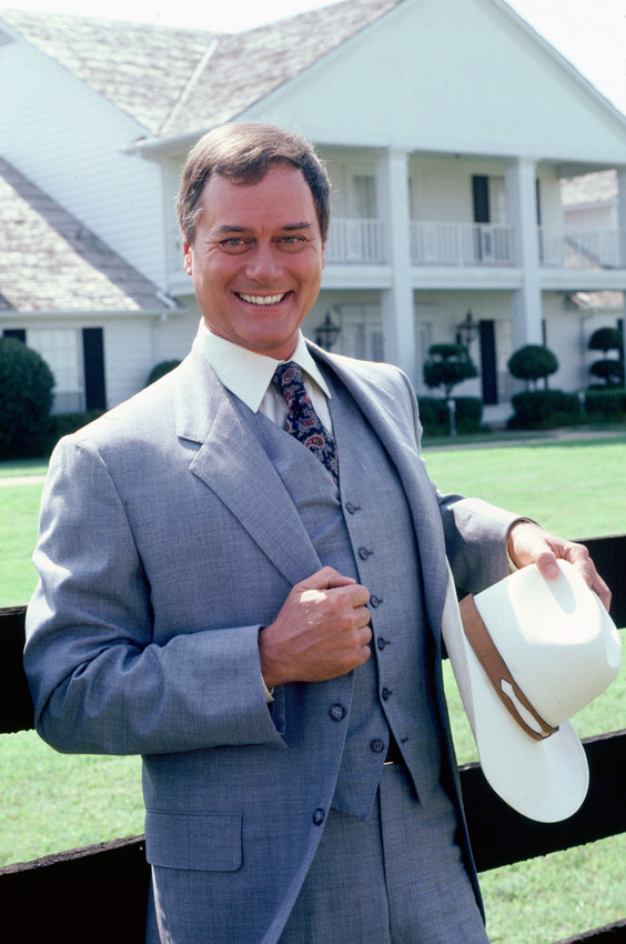 Primary image for Larry Hagman Dallas Smiling As J.R. 18x24 Poster