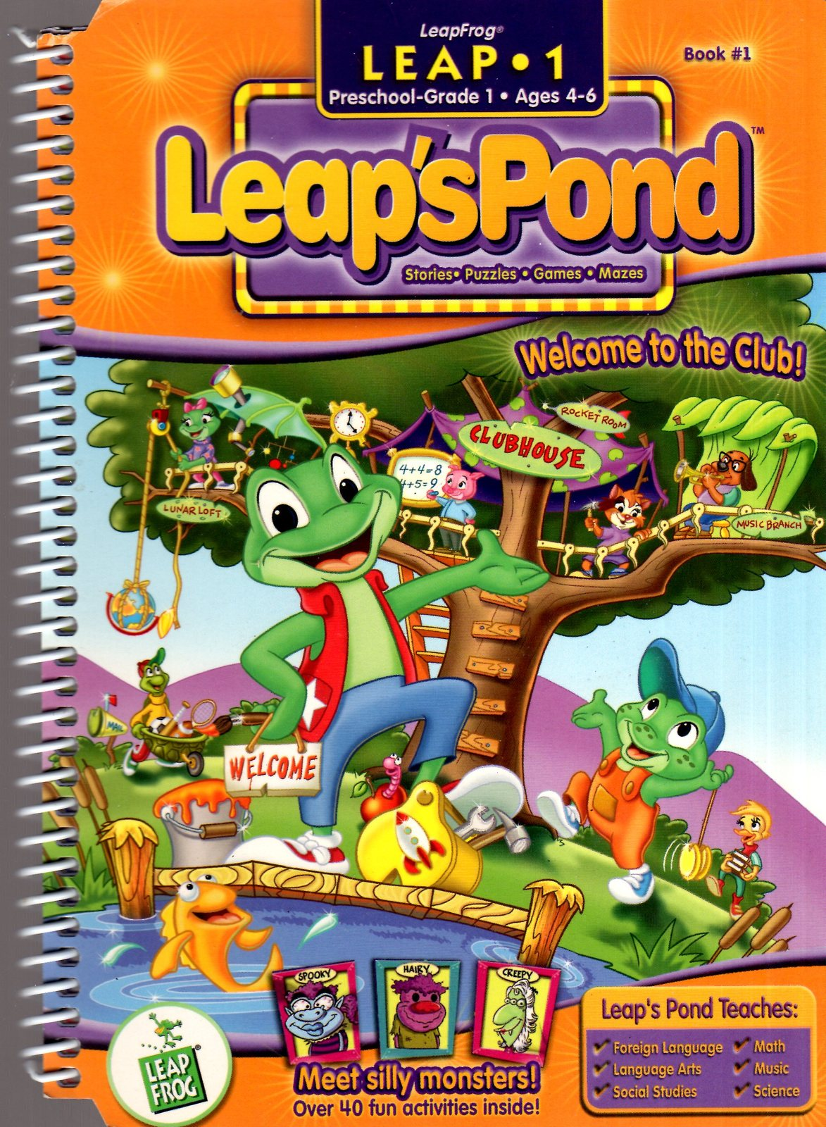 LeapFrog  -  Meet Silly Monsters! Leap's Pond - Leap 1