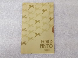 PINTO     1975 Owners Manual 15851 - $16.78