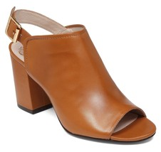 Vince Camuto Brianny Slingback Block Heel Shootie, Multip Sizes Fudge VC-BRIANNY - $99.95