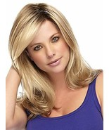 TopWigy Blonde Wig Long Wave Wigs Synthetic Hair Replacement Side Part B... - $23.34