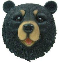 Natural Looking Wall Hanging Big Black Bear Head - $47.44