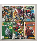 Lot of 12 Web of Spider-Man (1985 1st Series) #48-123 Annual 7 8 10 VF V... - $39.60