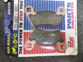 SBS Brake Pads P/N 1721-0452 image 1