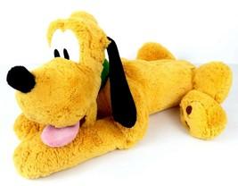 """Pluto 16"""" Lying Dog Plush Disney Store Exclusive Genuine Original Authentic - $12.99"""