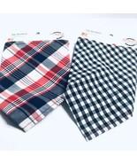 "PATRIOTIC Pets Brand Dog bandanas Size Xs/s (Lot Of 2) Neck Size 8-10"" - $7.59"