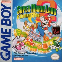 Super Mario Land 2 6 Golden Coins Gameboy Great Condition Fast Shipping - $14.18