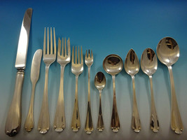 Flemish by Tiffany and Co Sterling Silver Flatware Set 8 Service Dinner 92 Pcs - $10,995.00