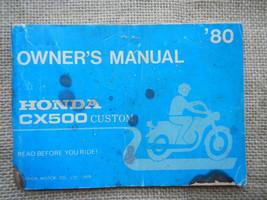 1980 80 Honda CX500 Cx 500 Custom Owner Owners Manual - $39.08