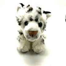 "Wild Republic Tiger Club Toy Stuffed Plush Animal 12"" Soft Black White  - $12.86"