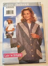 Misses Strip-Quilted Hat, Purse, & Jacket All Sizes - Butterick 4423 - $12.25