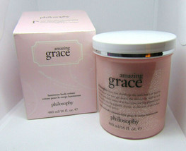 Philosophy Amazing Grace Luminous Body Creme 16.0Fl.oz/480ml Nib - $35.64