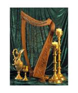 Celtic Walnut Heather Harp - $541.50