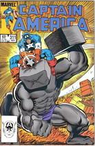 Captain America Comic Book #311 Marvel Comics 1985 VERY FINE/NEAR MINT U... - $2.75