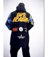SUPREME Undercover Public Enemy Taped Seam Parka Coat Jacket Sz:M/100% A... - $791.01