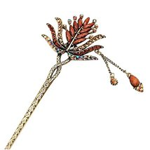 Classical Retro Hair Decor Hair Stick Hairpin Elegant Traditional Hair Clip With - $13.91