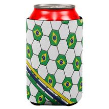 World Cup Brazil Soccer Ball All Over Can Cooler - $7.95