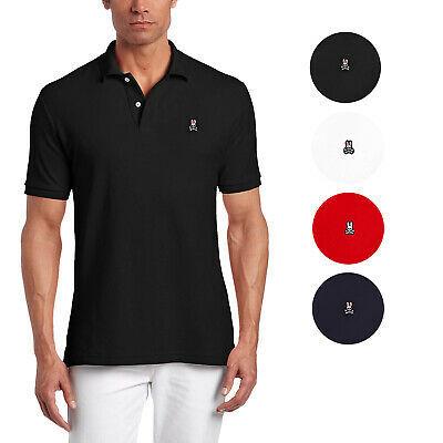 Psycho Bunny Men's Premium Pima Cotton Classic Polo Shirt T-shirt