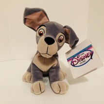 "The Disney Store Mini Bean Bag Tramp Dog 6.5"" Plush Stuffed Animal - $8.81"