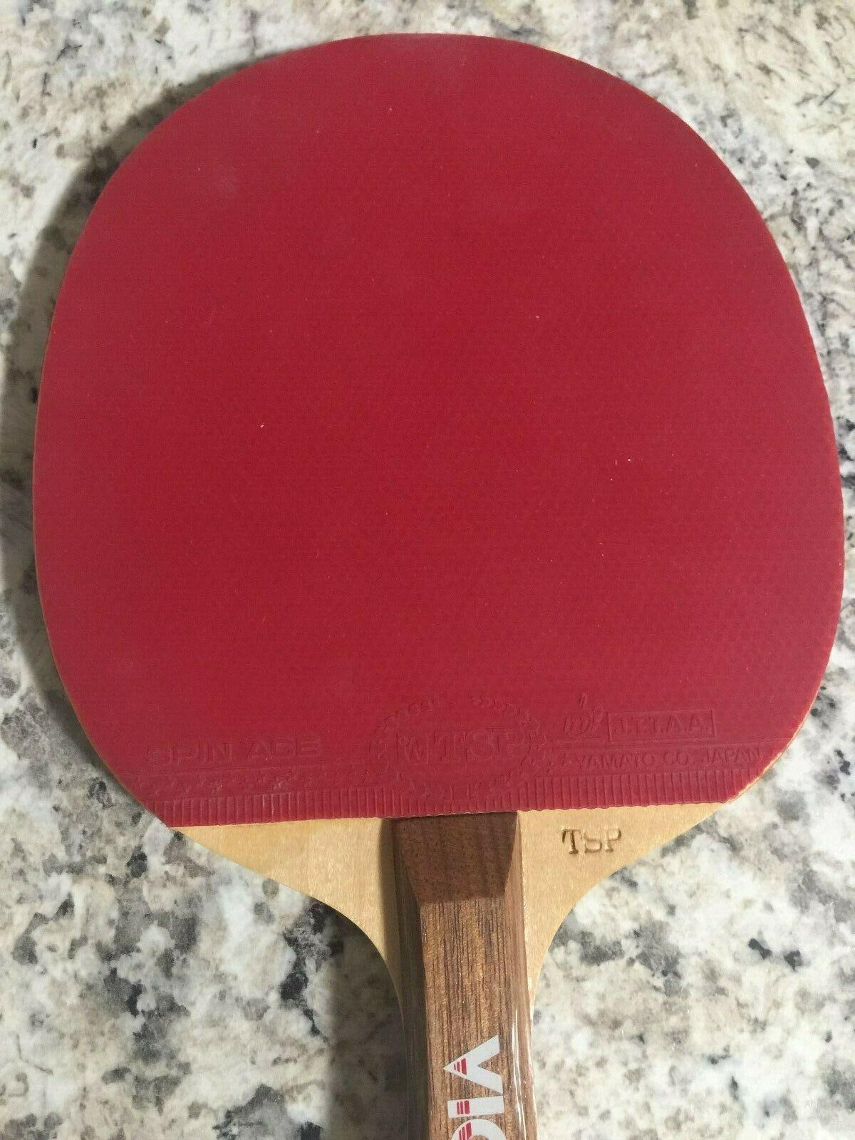 36834 ST Butterfly Table Tennis Racket Apollo Zia Straight