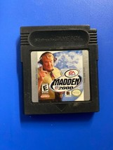 Madden NFL 2000 Nintendo Game Boy Game Only - $5.15