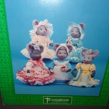 Crochet Air Freshener Covers Mouse Mice 1989 Booklet MIC 797 Patterns - $9.99