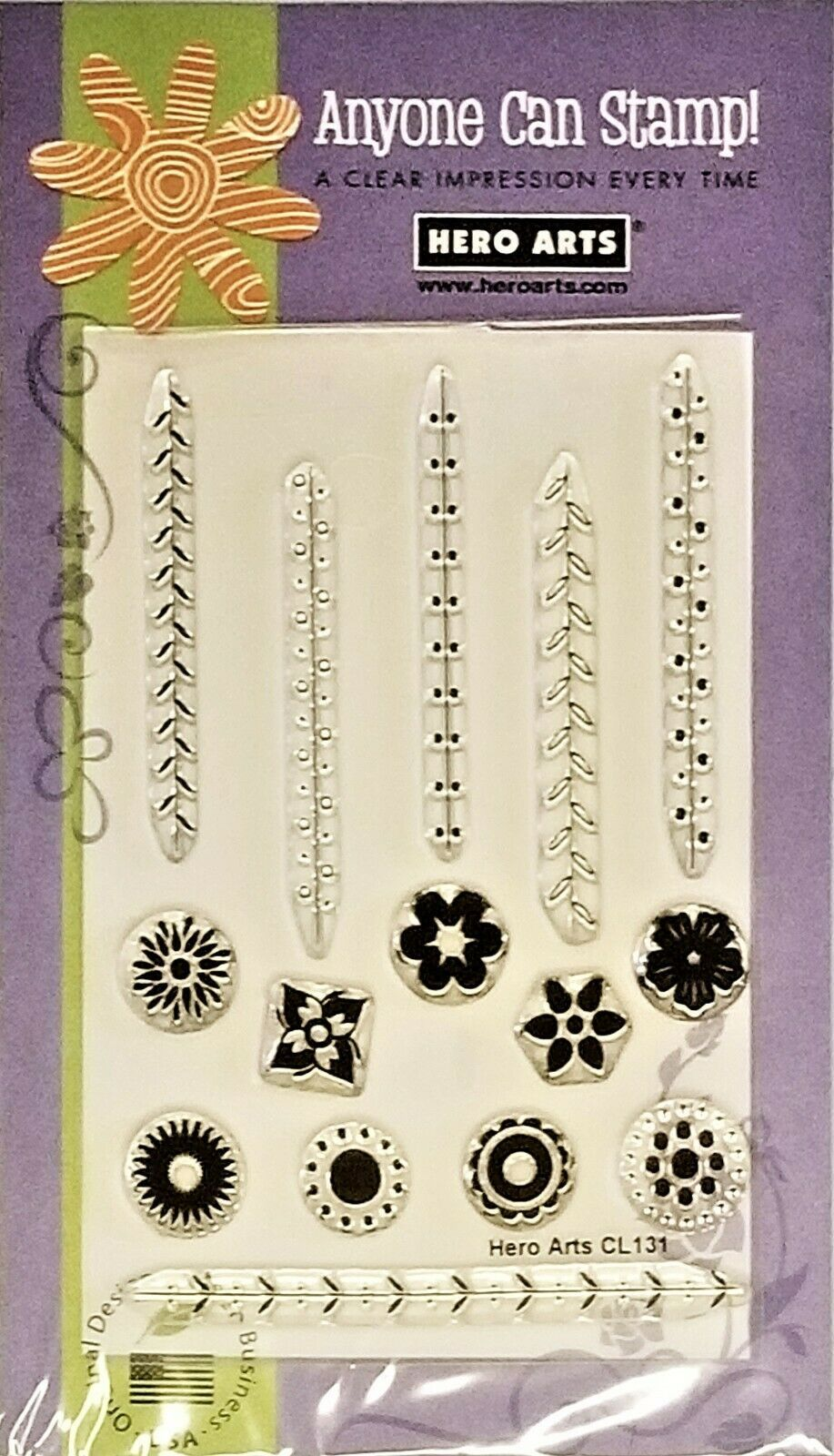 Primary image for Hero Arts Buds and Stems Stamp Set #CL131