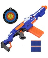 Nerf Gun Soft Bullets Children Kids Toy Pistol Tactical Blaster Christma... - $35.49+