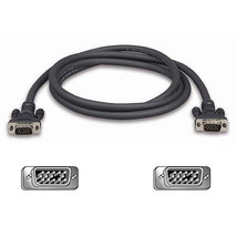 Belkin F3H98206 Pro Series VGA / SVGA Monitor Cable, HDDB15 Connectors, ... - $8.90