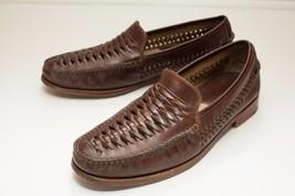 Johnston & Murphy 9.5 Brown Slip-On Loafers - $64.00