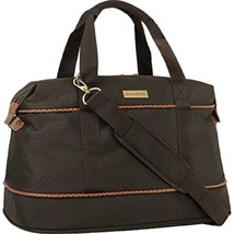 """Tommy Bahama 20"""" Duffle Bag Mojito Collection Unisex Dark Brown Canvas 2498C15"""