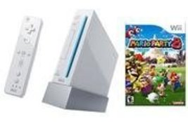 Nintendo Wii Console + Mario Party 8 Wii Bundle [video game] - $108.89