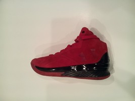 UNDER ARMOUR MEN'S 1296617-600 RED CURRY 1 LUX MID SC BASKETBALL SHOE  S... - $75.00