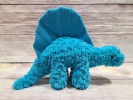 Manhattan Toy Company Plush Dimetrodon Dinosaur Stuffed Animal Beanie Bl... - $17.45