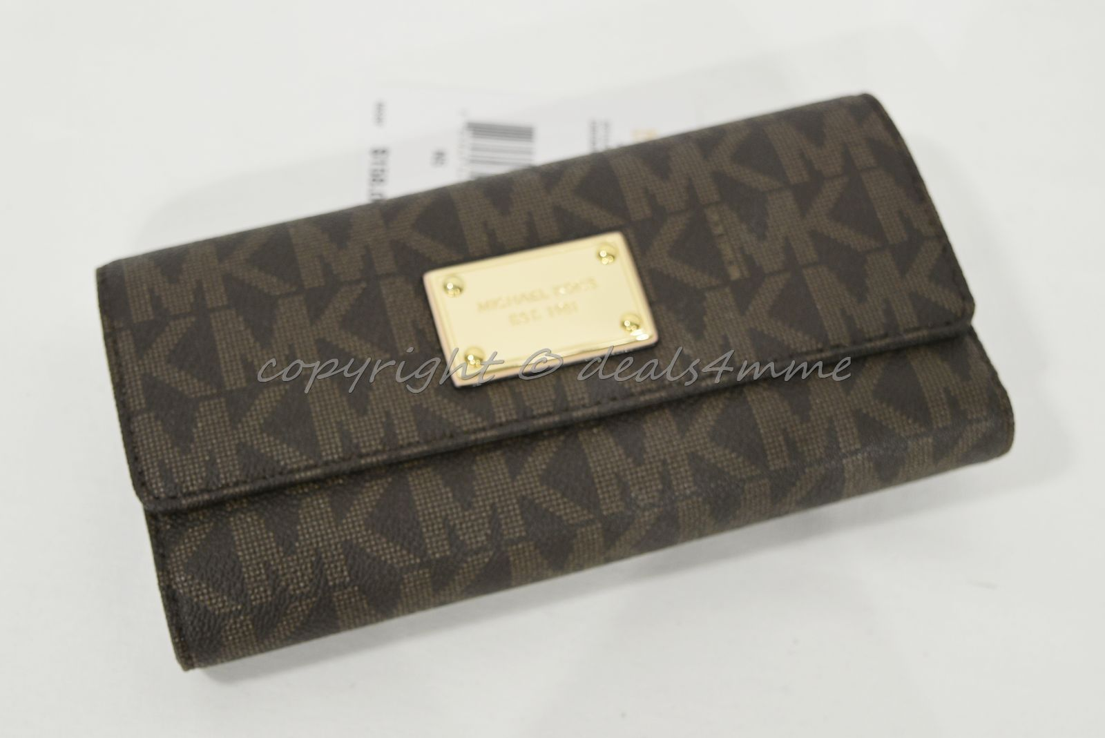 9a7f4f68f017 NWT Michael Kors Jet Set Checkbook Wallet in and 50 similar items. S l1600