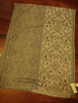 Simply Noelle Womens Olive 100% Polyester One Size Wrap Shawl Scarf St. ... - €11,69 EUR