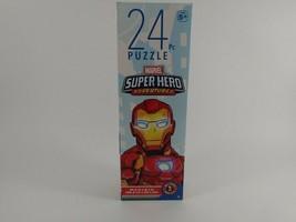 Marvel Superhero Adventures Puzzle 24 Pieces Avengers Spider-Man New Sealed - $9.46