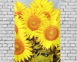 Tapestry Wall Golden Sunflower Filed Pattern Light Tapestry 40x60 Inch