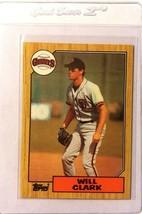 Will Clark 1987 Topps #420 San Francisco Giants Baseball Cards Mississip... - $0.94