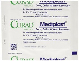 Curad Mediplast Corn, Callus & Wart Remover, 2 pads image 10