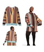 Missoni Target Women's Colore Zig Zag Long Sleeve V-Neck Button Cardigan... - $100.82