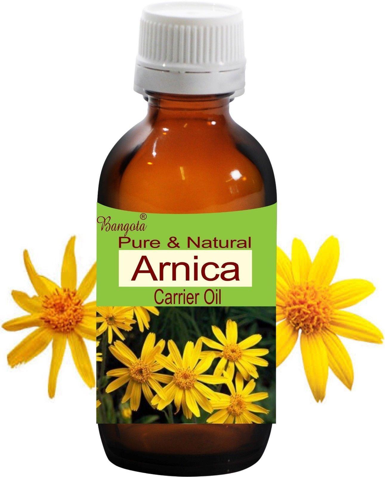 Arnica Oil- Pure & Natural Carrier Oil- 50ml Arnica Montana by Bangota