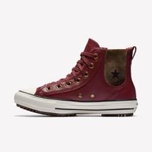 Women's Converse CTASta LEATHER+FAUX FUR Chelsea Boot, 553393C Sizes 6-1... - $89.95