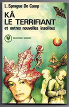 The Reluctant Shaman (Ka Le Terrifiant) L. Sprague de Camp French Book 1977 - $6.50